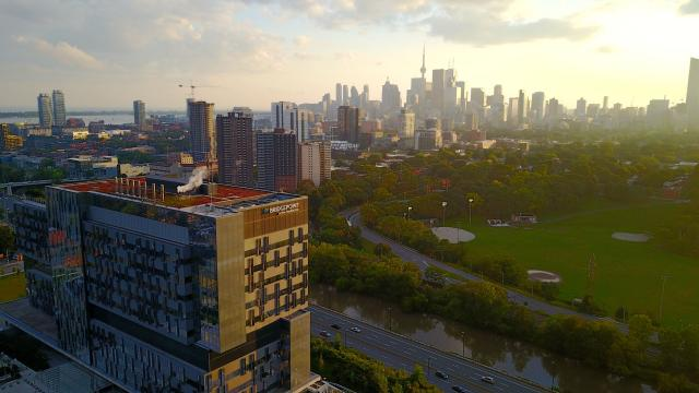 Photo of the Day, Toronto, skyline, Riverdale, Bridgepoint Hospital