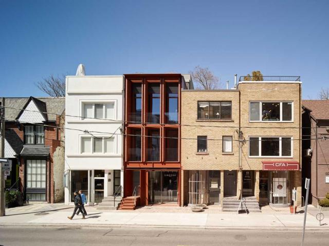 Urban Infill in the Village of Yorkville, Toronto Urban Design Awards