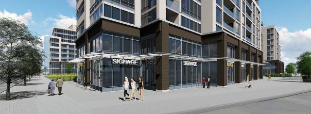 Retail at 3636 Bathurst, Toronto, Kirkor Architects, Pinedale Properties