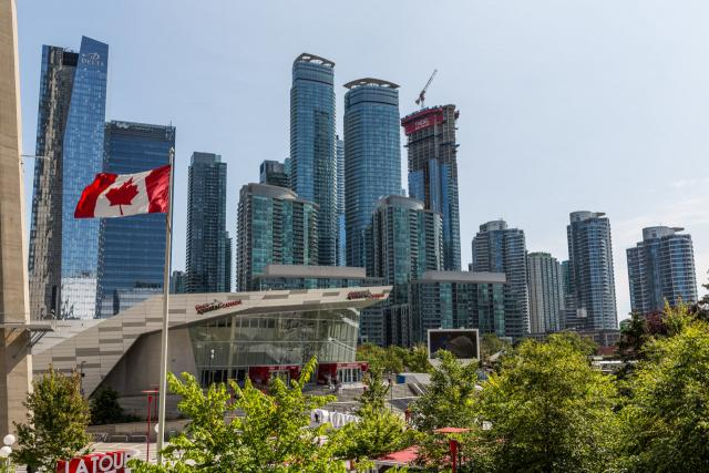 Photo of the Day, Toronto, South Core, skyline