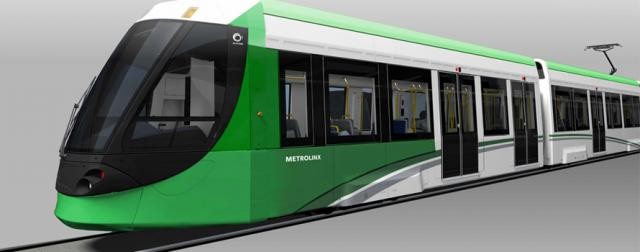 The Alstom Citadis that Metrolinx plans to use on the Finch West LRT