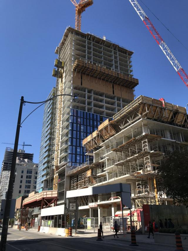 50 at Wellesley Station, Plaza, Vox Condominiums, Cresford, Toronto