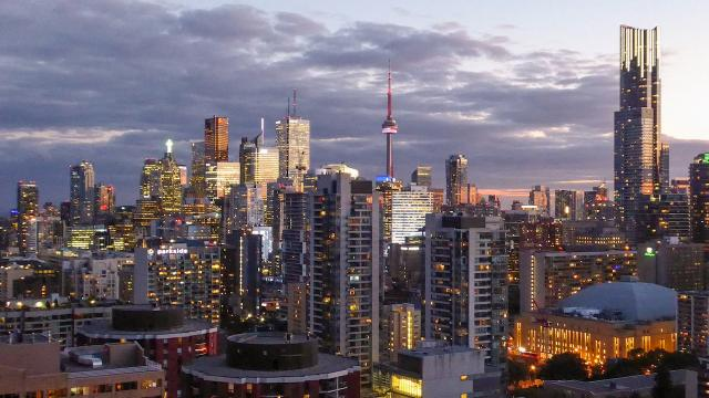 Photo of the Day, Toronto, CN Tower, skyline