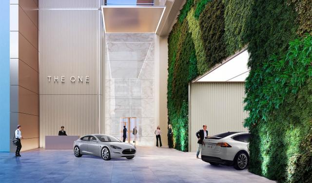 The One, designed by Foster+Partners & Core Architects for Mizrahi Developments