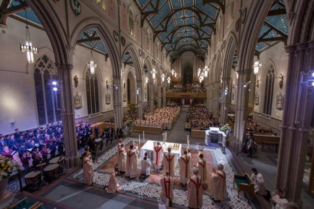 The Mass of Re-dedication at Toronto's St. Michael's Cathedral Basilica