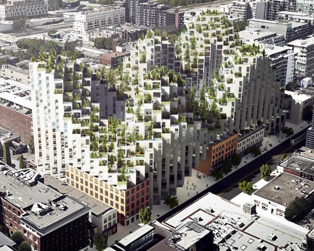 King St. West Orginal Concept, Toronto, image courtesy of Westbank/Allied/BIG