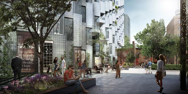 King St. West, Westbank, Allied, Bjarke Ingles Group, Toronto