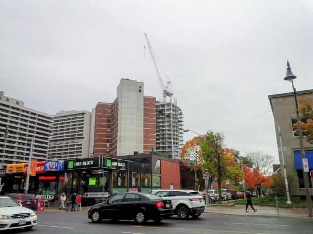 Throwback Thursday, Yonge, Helendale, Neon, Whitehaus, Montgomery Square