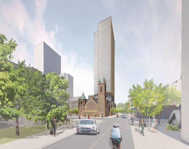 300 Bloor St W, Toronto, designed by KPMB Architects for Northrop Developments