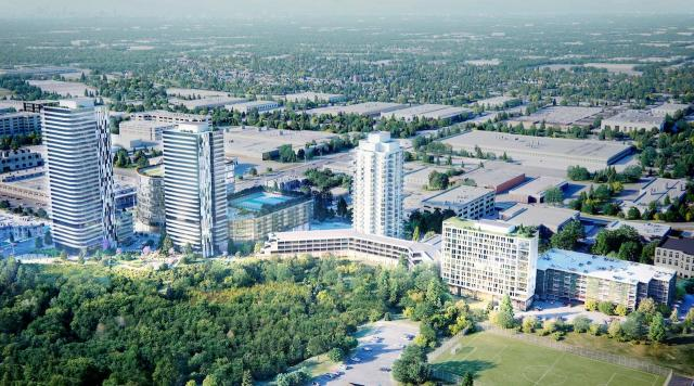 Westin Prince Hotel, 900 York Mills Road, Rendering by Quadrangle Architects
