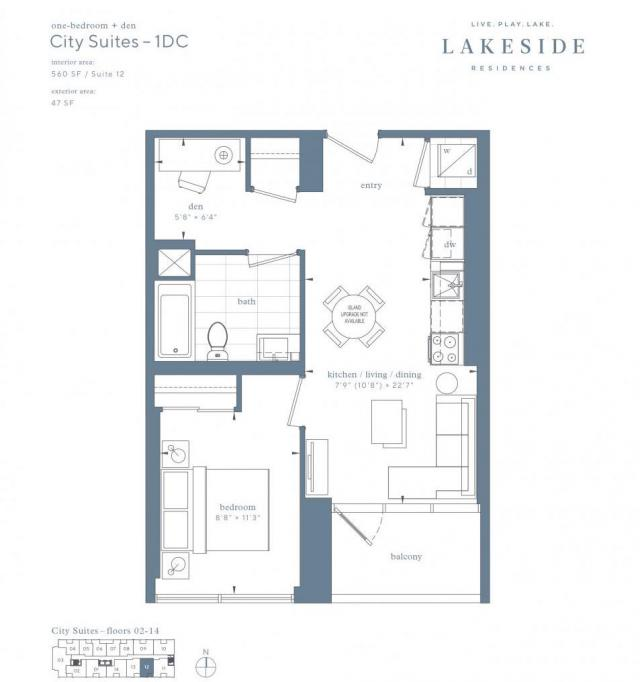 Lakeside Residences, Greenland Canada, Hariri Pontarini Architects, Toronto