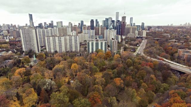 Photo of the Day, Toronto, Bloor-Yorkville, St. James Town, skyline