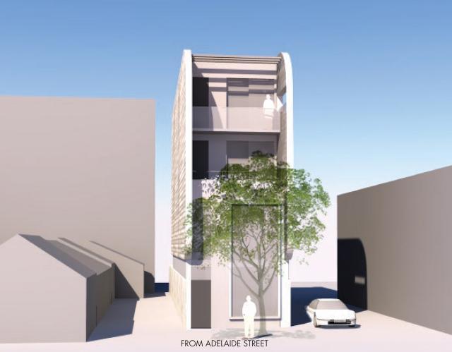 Rendering, 852 Adelaide, W Lifestyle, Thomas Payne Architect, Toronto