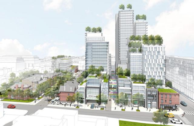 Mirvish Village, Westbank, Henriquez Partners, Honest Ed's, Toronto
