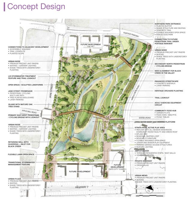 Edgeley pond and park to act as catalyst for growth in for Design of maturation pond
