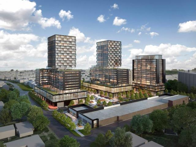 Richview Square redevelopment at 4620 Eglinton Avenue West