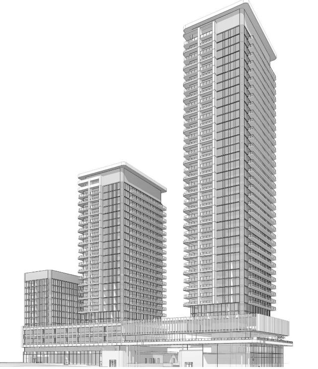 Height Renderings, 23 Buckingham, VANDYK, Kohn, SvN