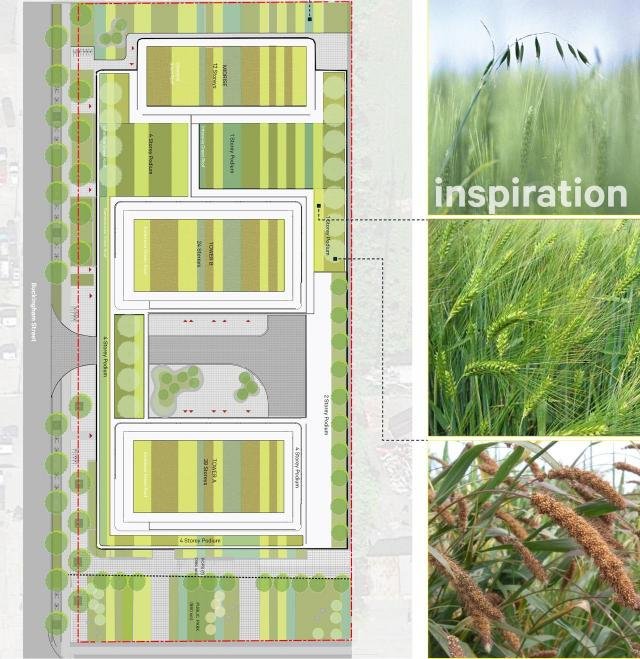 Green Space, POPS, Public Park, 23 Buckingham, VANDYK, Kohn, SvN
