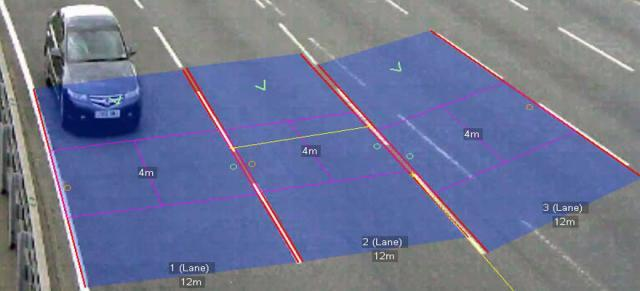 Vehicle detection using video analysis