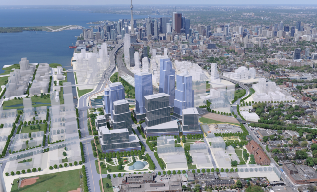 East Harbour, First Gulf, Adamson Associates, Urban Strategies, Toronto