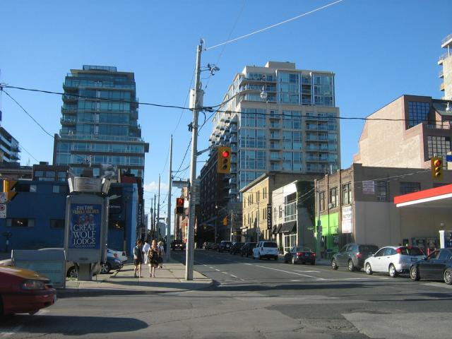 Throwback Thursday, Front and Sherbourne, Toronto