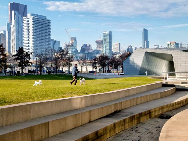 Photo of the Day, Toronto, skyline, Sherbourne Common, East Bayfront