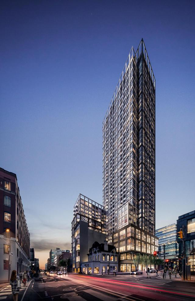 Peter and Adelaide, Graywood Developments, BBB Architects, Toronto