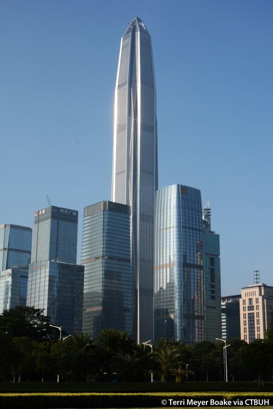 The Ping An Finance Center in Shenzhen, China, image © Terri Meyer Boake CTBUH
