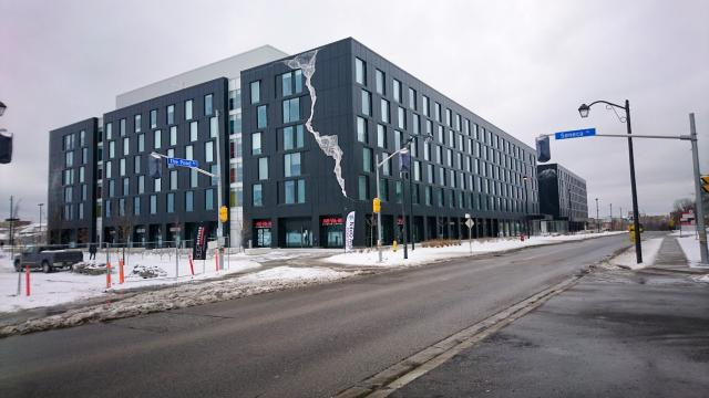 The Quad Student Residence, York University, ARK Design, Toronto