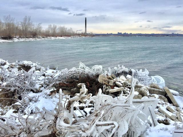 Photo of the Day, Toronto skyline, Leslie Street Spit, Lake Ontario