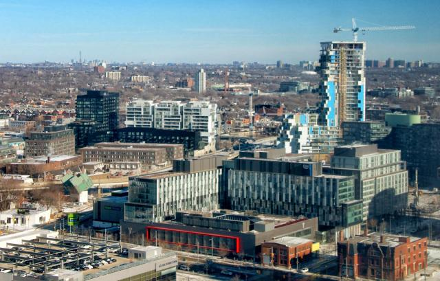 Photo of the Day, Toronto, West Don Lands, Canary District, River City