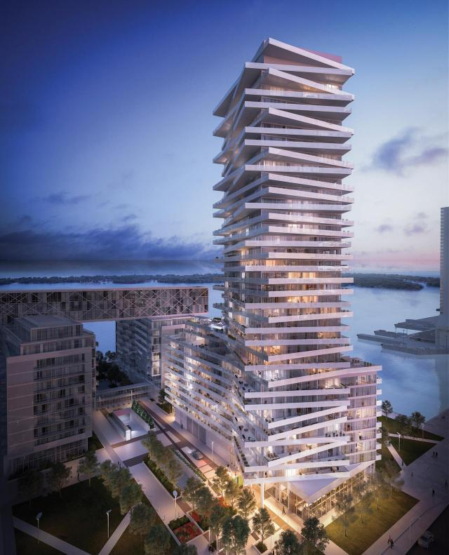 Tower at Pier 27, Cityzen, Fernbrook, Toronto, architectsAlliance