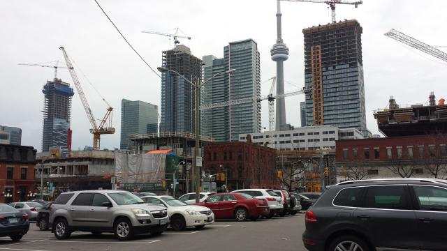 Photo of the Day, Toronto skyline, Entertainment District