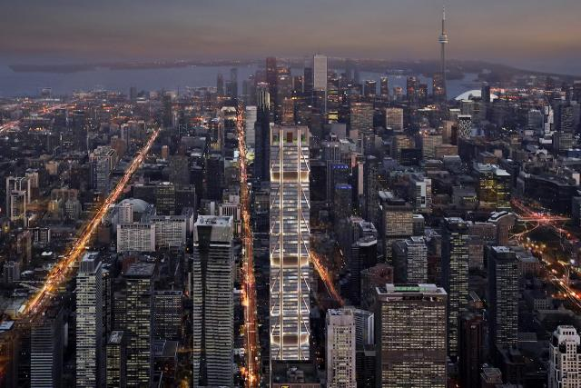 The One, Toronto, Mizrahi Developments, Foster + Partners, Core Architects