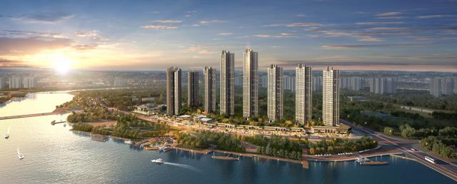 Aoyuan's Yushan Lake development in China, image courtesy of Aoyuan