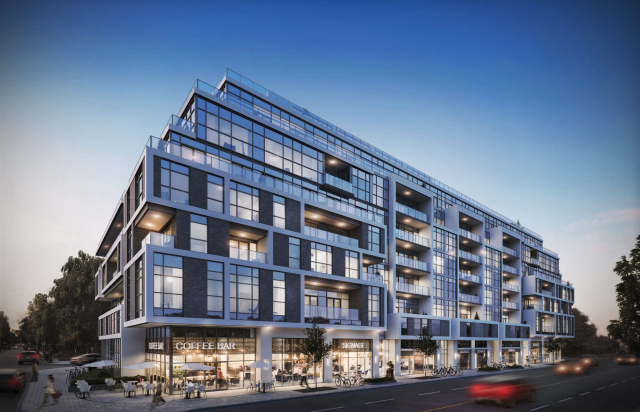 Bayview & Hillsdale, Toronto, by Kohn Partnership Architect for the Brown Group