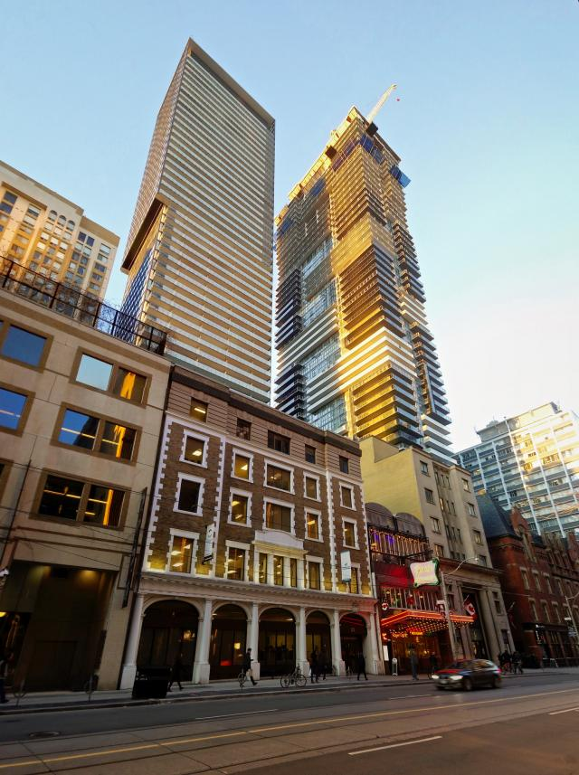 Photo of the Day, Toronto, College Street, Karma, YC Condos