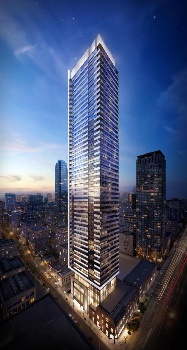 Eight Cumberland, Great Gulf, Phantom Developments, architectsAlliance, Toronto