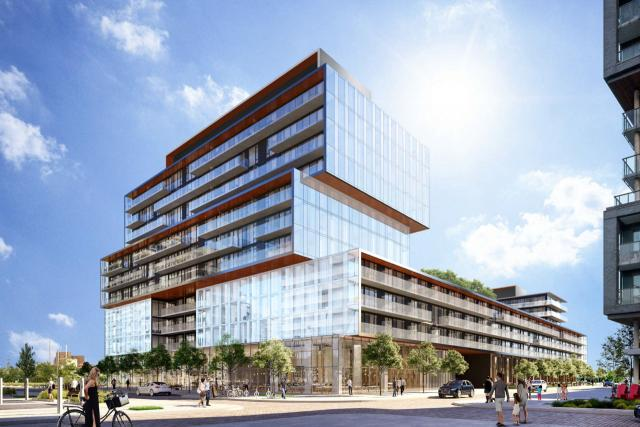 Canary Commons, Toronto, designed by architectsAlliance for DundeeKilmer