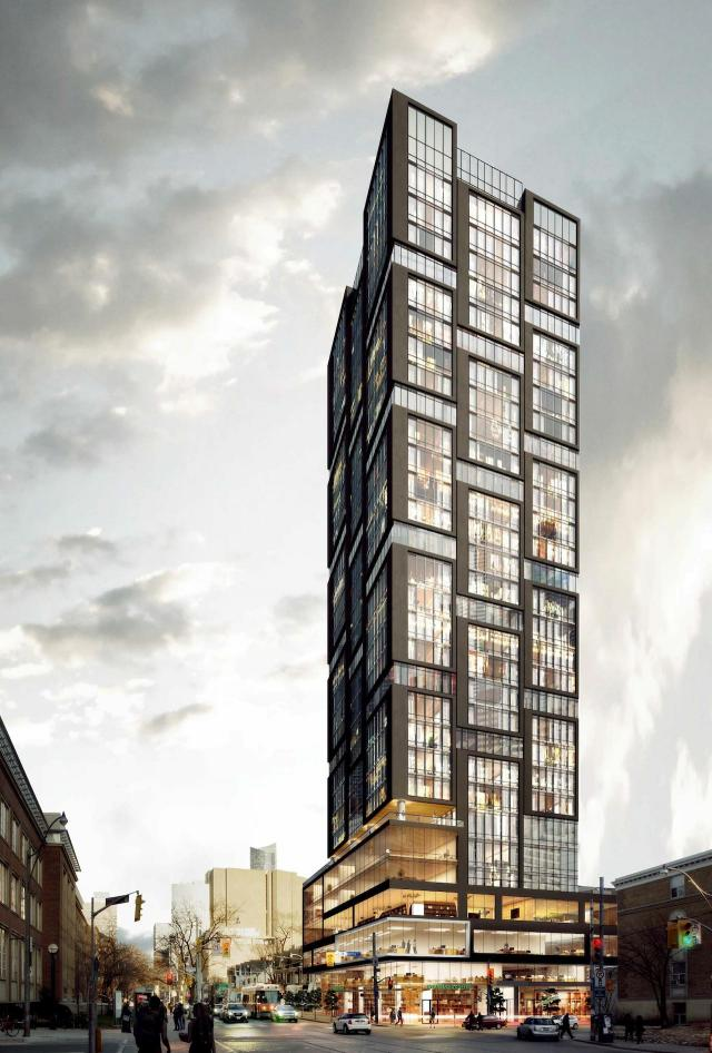 Theory Condos, Toronto, design by IBI Group for Parallax Investment Corporation