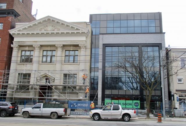 491 College Street, by RioCan and Allied REIT, as of February 28, 2018, Toronto