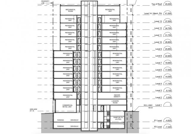 City of Toronto, Sweeny & Co Architects, 502 Adelaide Street West