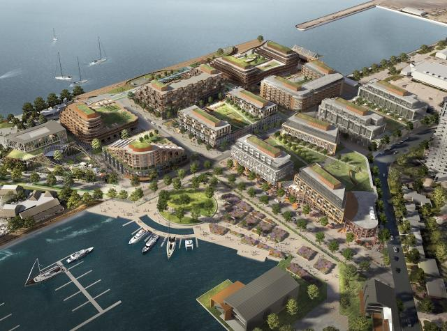 Hamilton's Pier 8 Redevelopment by Great Gulf and Dream Unlimited, Hamilton