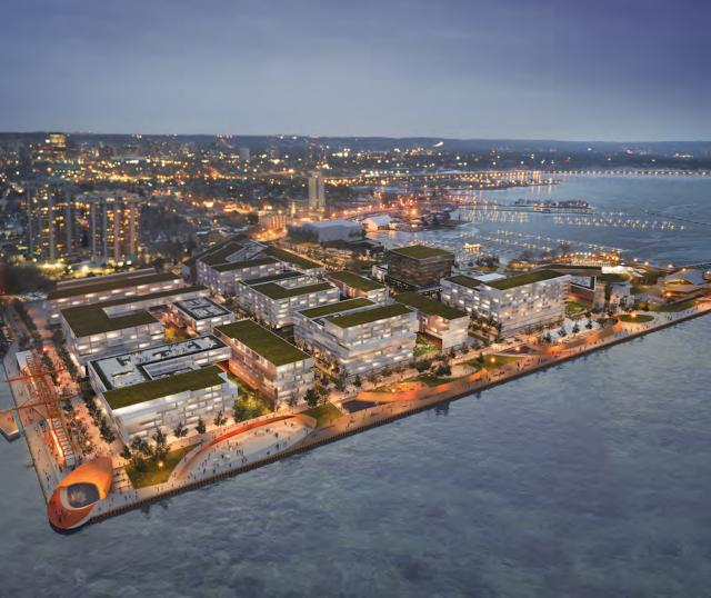 Hamilton's Pier 8 Redevelopment by UrbanCapital, Milborne and Core Urban