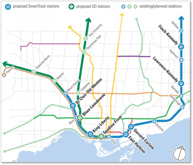 Metrolinx technical report on new stations