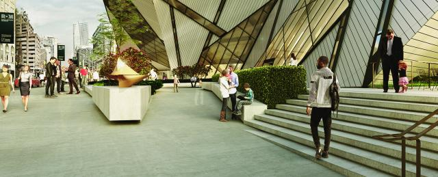Bloor Street Welcome Project at the ROM, Toronto, Hariri Pontarini Architects