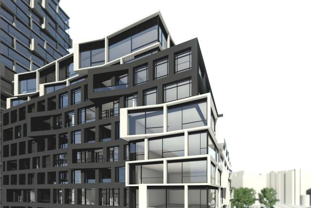 10 Concorde Place, designed by Kirkor Architects for Marwest Group of Companies