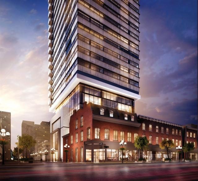 Eight Cumberland, Toronto, Phantom, Great Gulf, architectsAlliance
