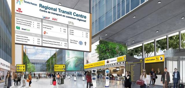 Proposed Regional Transit Centre, Toronto Pearson International Airport