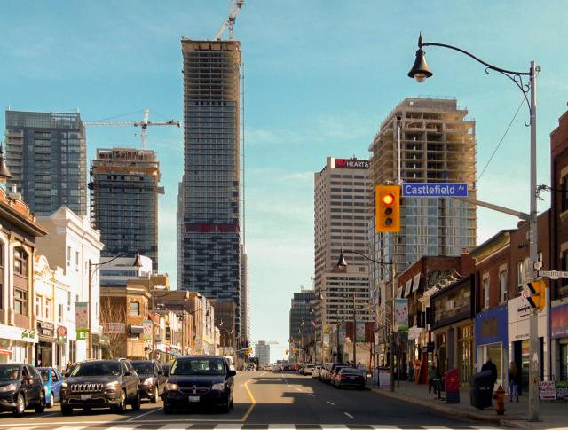 Photo of the Day, Toronto, Yonge, Eglinton, skyline, E Condos, Montgomery Square